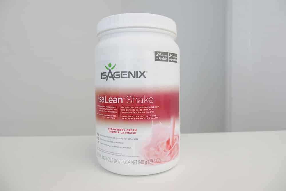 Isagenix container