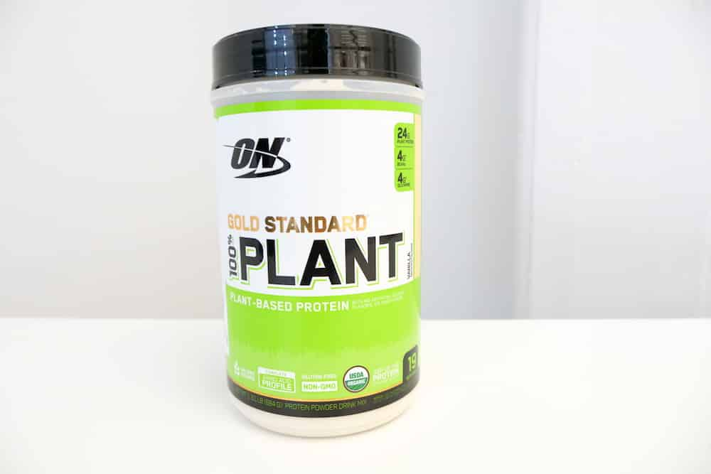 ON Gold Standard Plant Based Protein Taste
