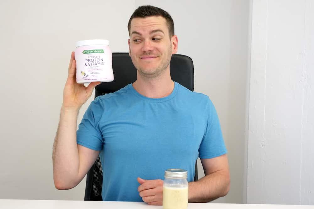 Nature's Bounty Complete Protein & Vitamin Shake Mix