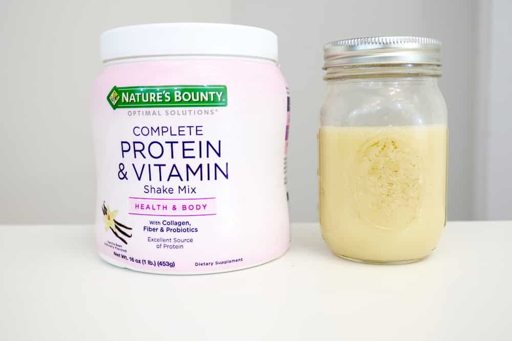 Nature's Bounty Complete Protein & Vitamin Shake Mix Review