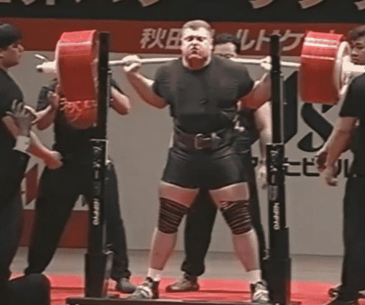 Zydrunas Savickas Old School Powerlifting.