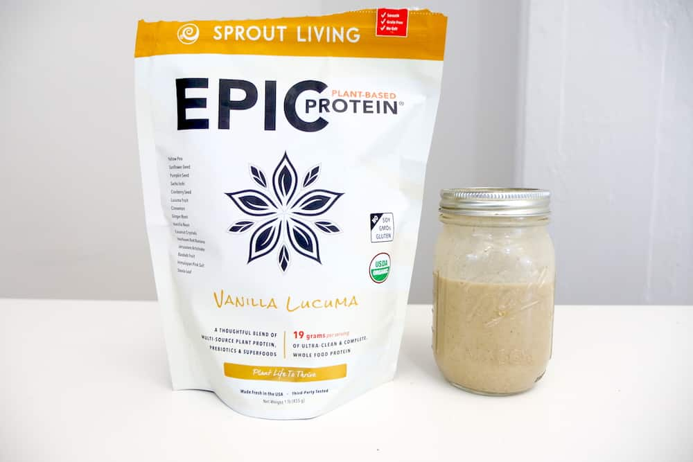 Sprout Living Epic Plant-Based Protein Ingredients