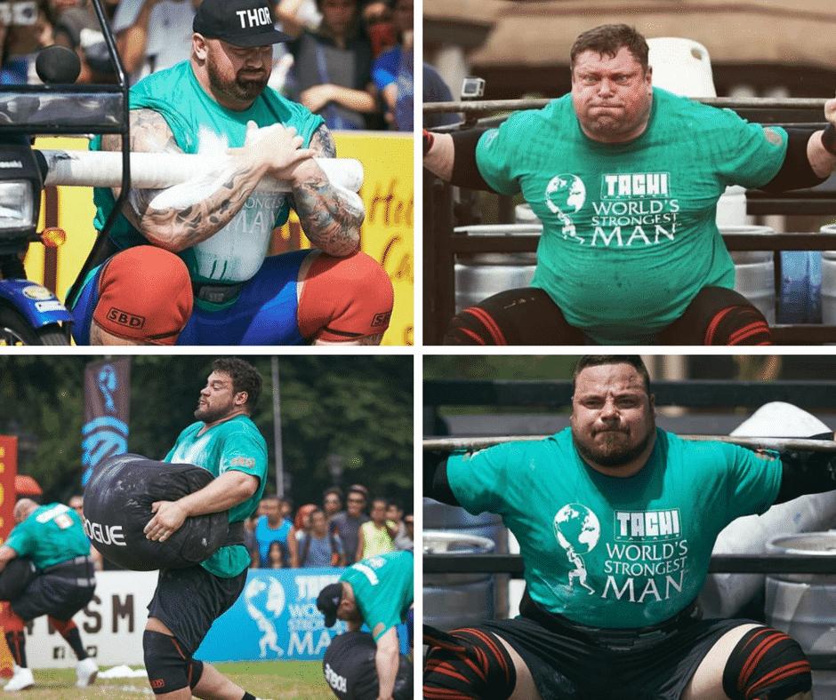 2018 World's Strongest Man Finalists