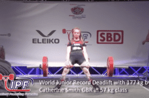 Catherine Smith IPF worlds