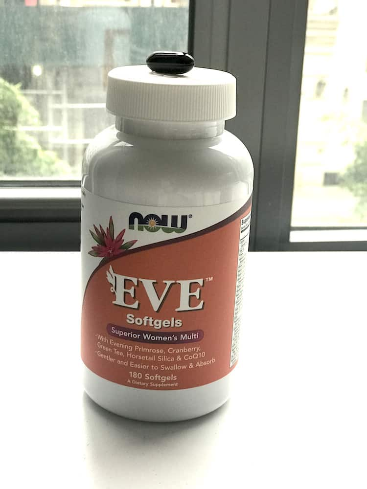 Eve softgels closeup