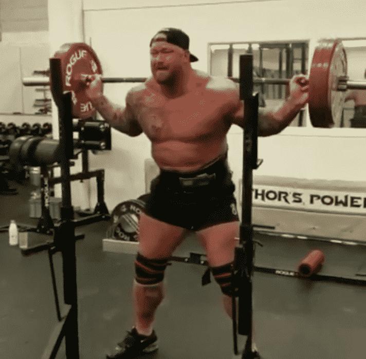 Throwback: Thor Bjornsson Squats 200kg for 29 Grueling ...