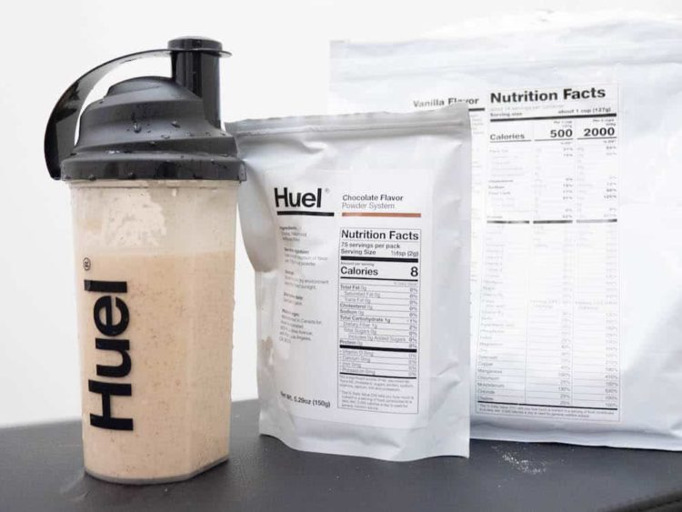 A kit for Huel meal replacement
