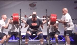Joseph Pena 425.5kg squat