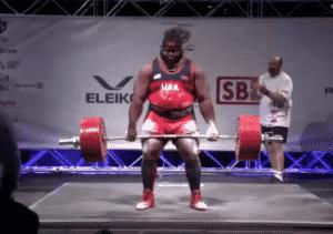 Ray Williams 398.5kg deadlift