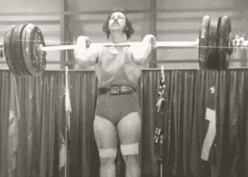 Canadian weightlifter Bob Santavy