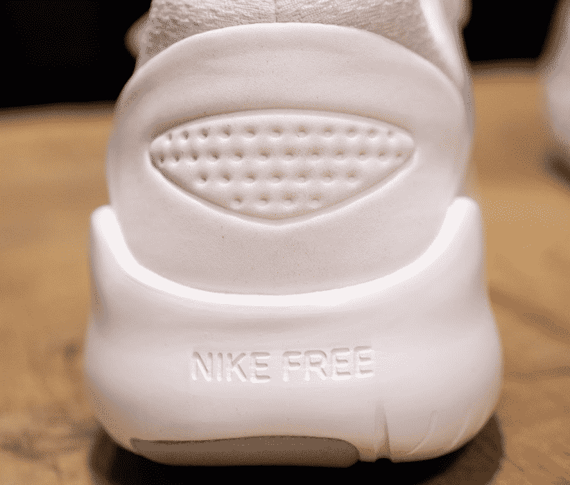 Nike Free TR V8 Heel Construction