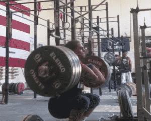 Harrison Maurus Front Squats a 240kg PR.