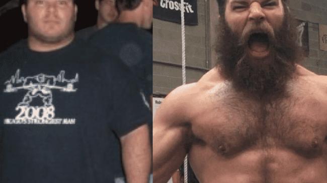 Jared Enderton CrossFit Transformation.