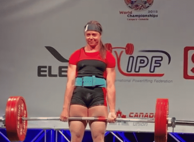 Junior Powerlifter Jessica Buettner 72kg Smokes A 227