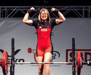 Jen Thompson Powerlifting Champion Pre-Meet Meal