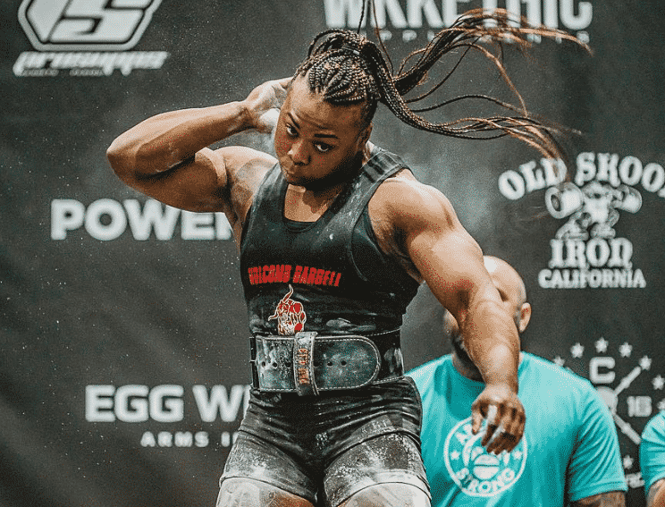 Chakera Holcomb Powerlifting Interview