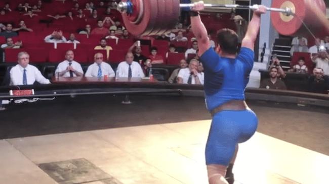 Sohrab Moradi 240kg clean and jerk