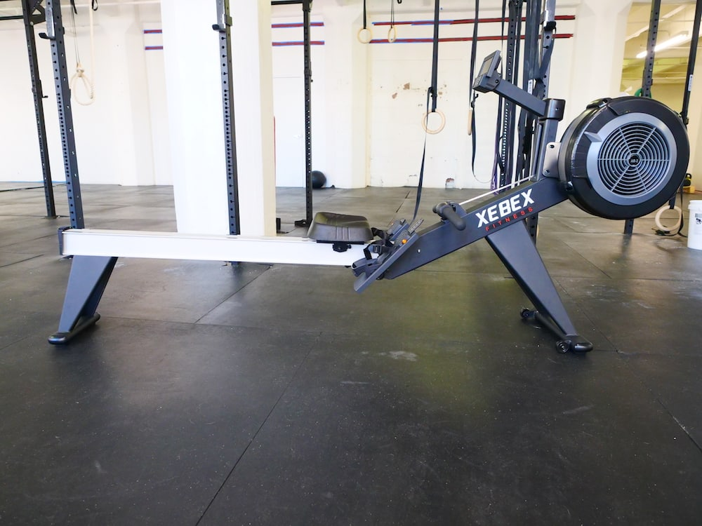 A rowing machine from Get RXd