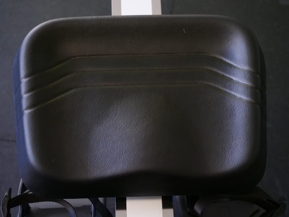 Seat of a Xebex rower