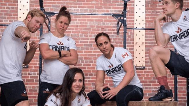 CrossFit Canadian athletes