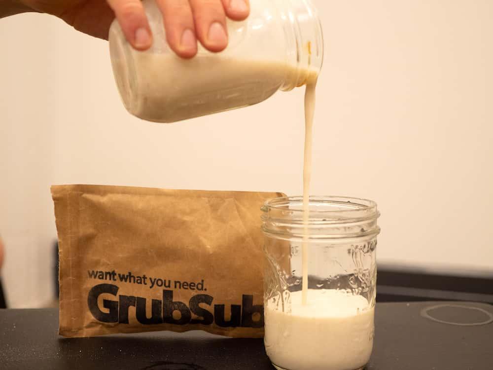 GrubSub Pour