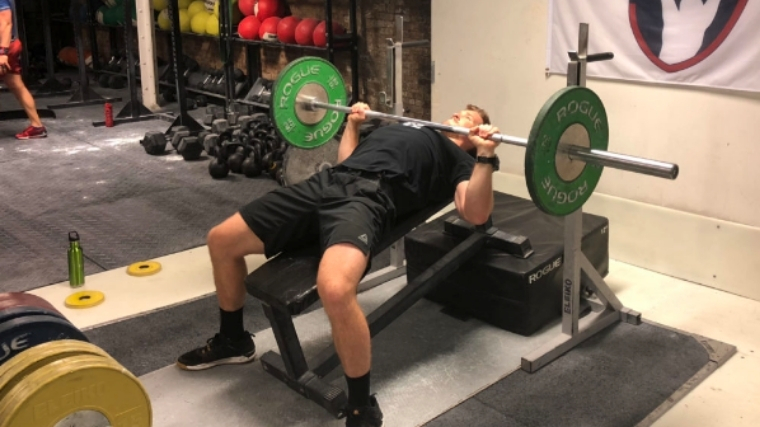 Incline Bench Lower