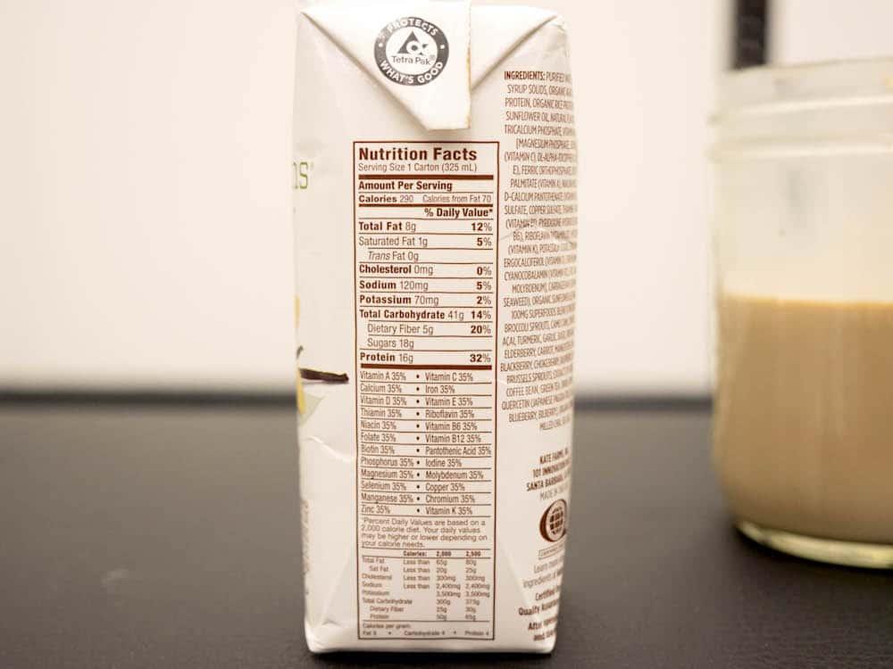 KateFarms Komplete Nutrition