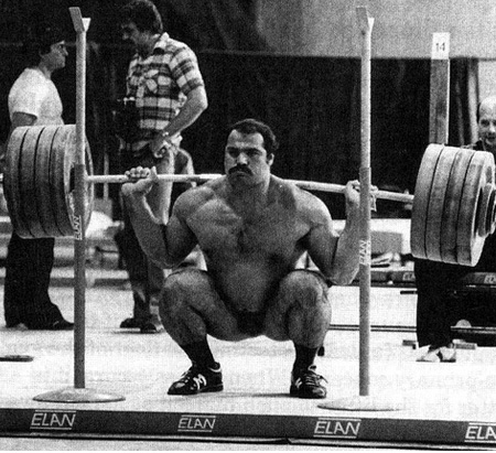 Old School Squat