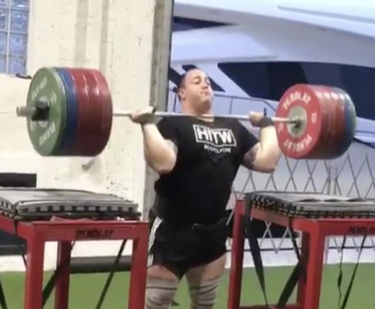 Fernando Reis 230kg Jerk Triple