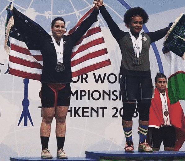 Meredith Alwine Sweeps Silver At 2018 Weightlifting Junior Worlds
