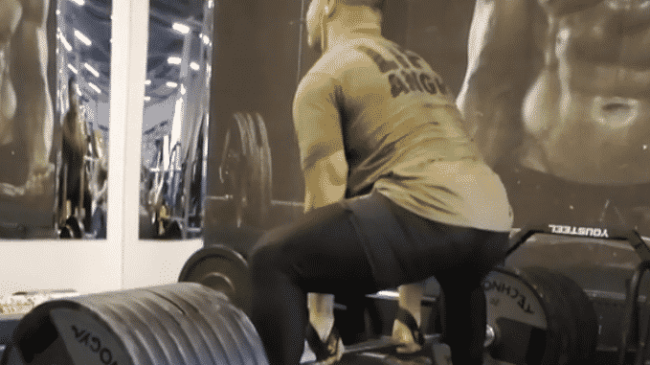 Yury Belkin Deadlifts 380kg for Reps