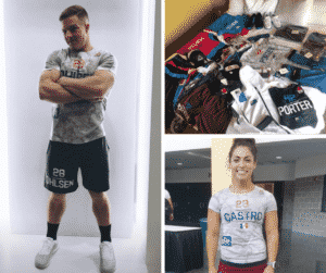 2018 Reebok CrossFit Games Events and Athlete Apparel