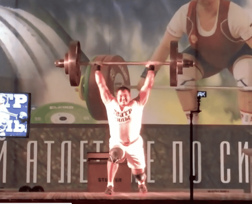 Aleksey Lovchev's 210-Kilo Apollon Axle Clean & Jerk May Be