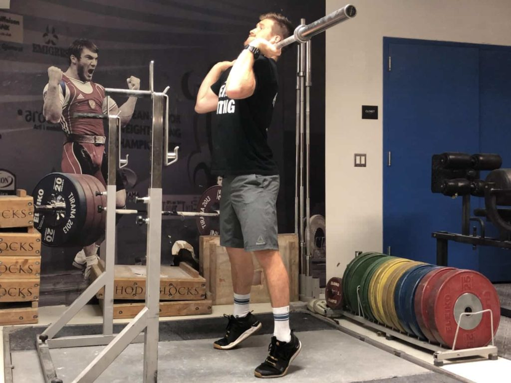 Squat Jerk Drive Phase 1