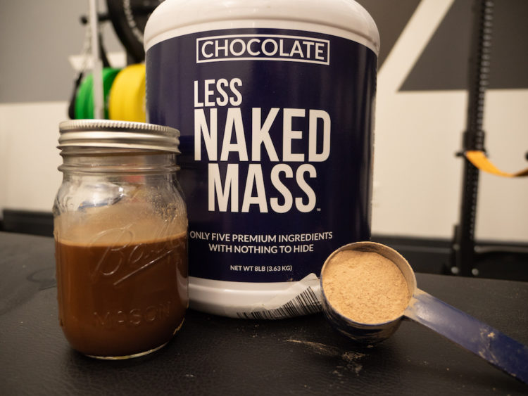 Less Naked Mass gainer