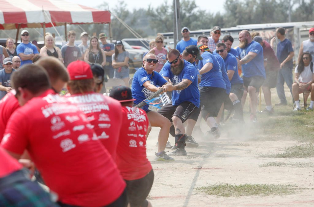 Massenomics Strongman Showdown