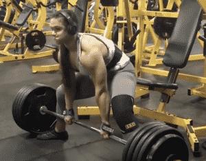 Amanda Lawrence 480 lb Deadlift Sets