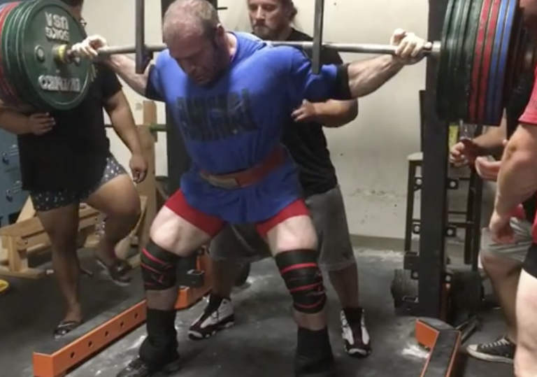 Andrew Herbert Hits Huge 435kg Squat PR