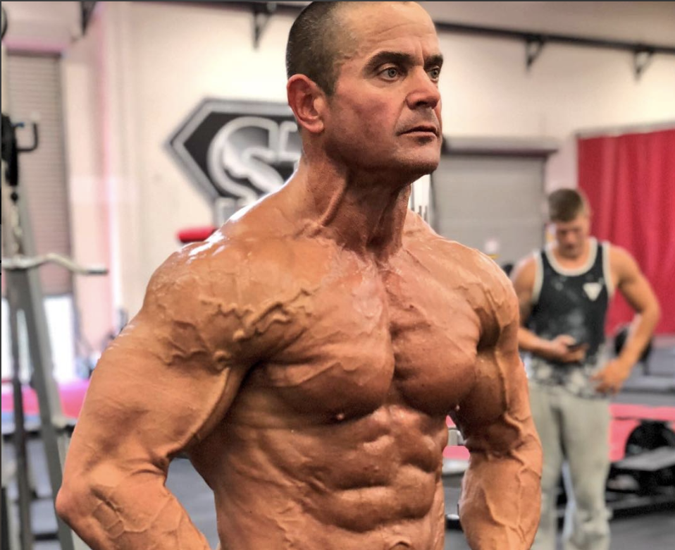 Check Out Mark Bell S Progress To The Bodybuilding Stage