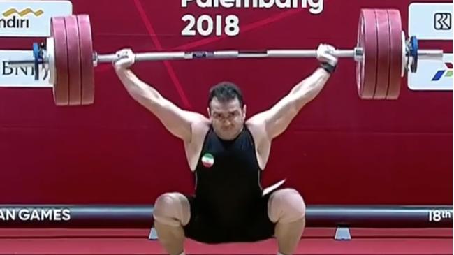 Sohrab Moradi world record snatch