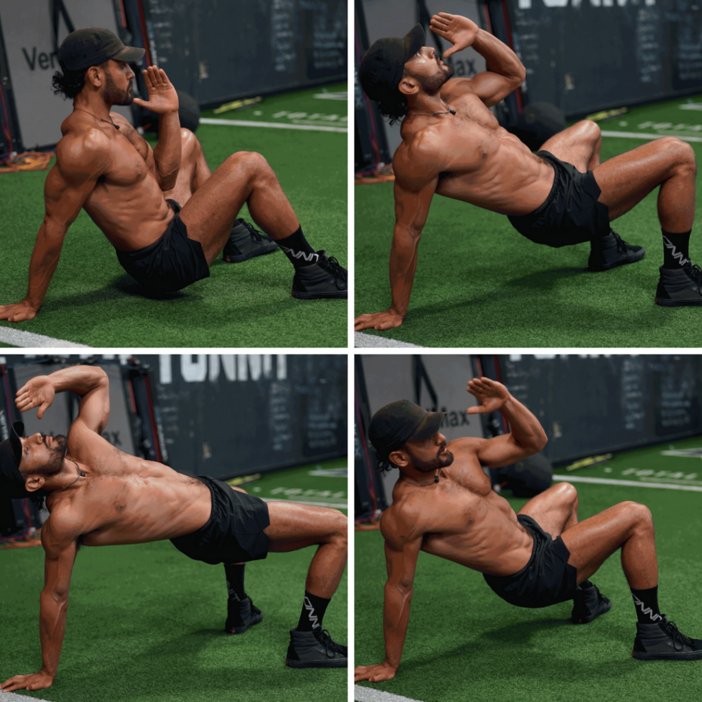 Crab Reach Mobility Drill