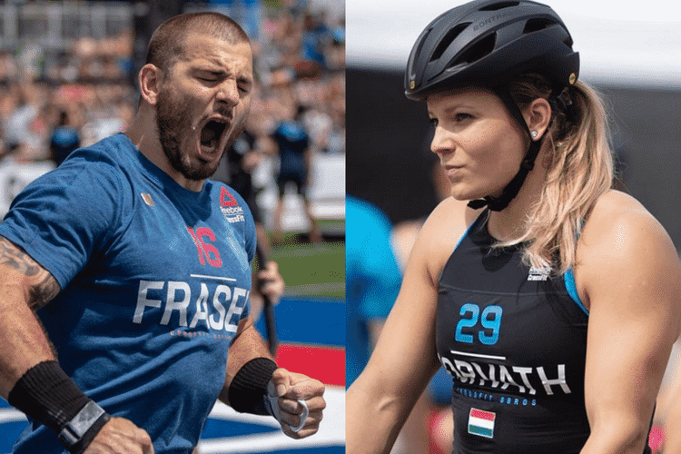Mat Fraser And Laura Horvath Lead After Day 1 Of 2018