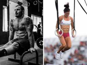 Mat Fraser and Tia-Clair Toomey