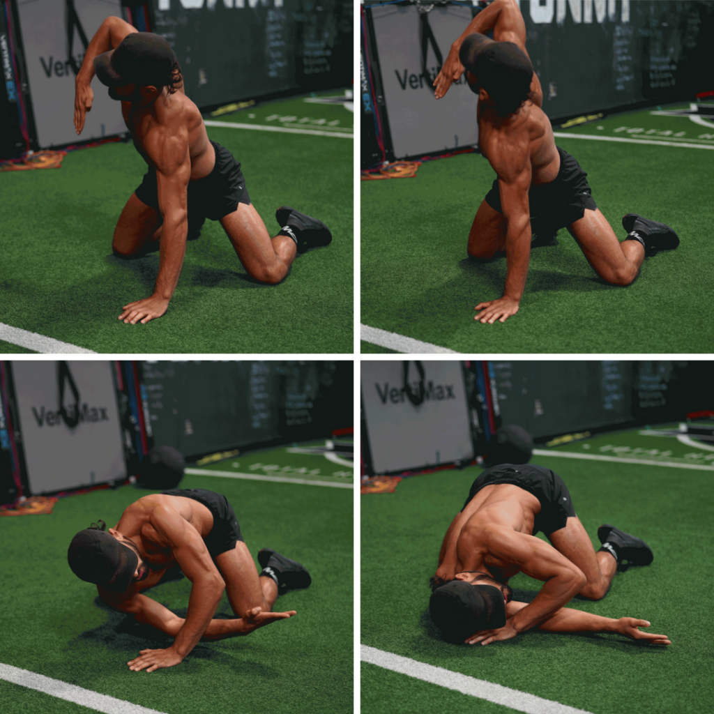 Needle Arm Thread Mobility Drill