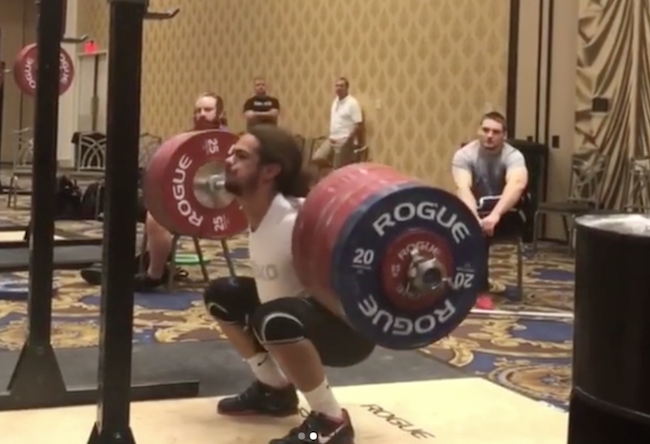 Harrison Maurus 270kg squat