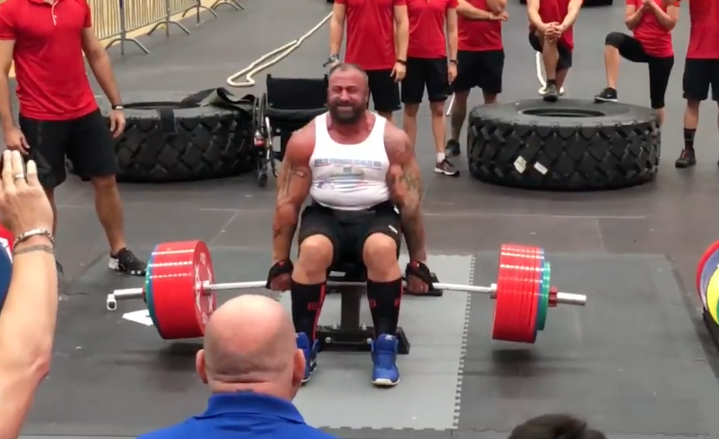 Martin Tye Deadlifts a Record 500kg to Win World's Strongest