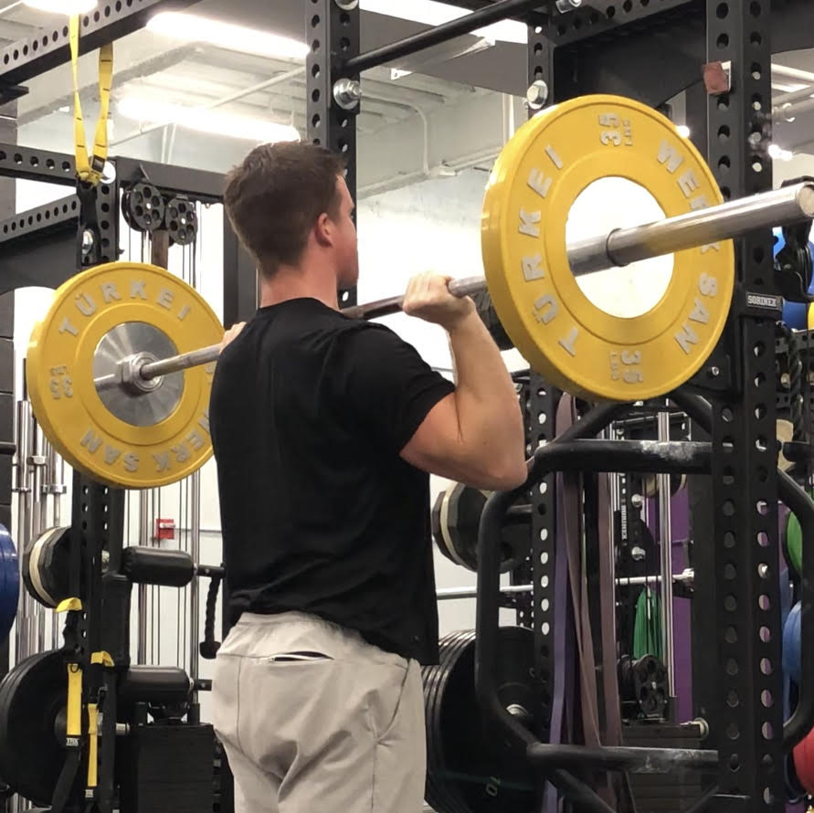 Military Shoulder Press