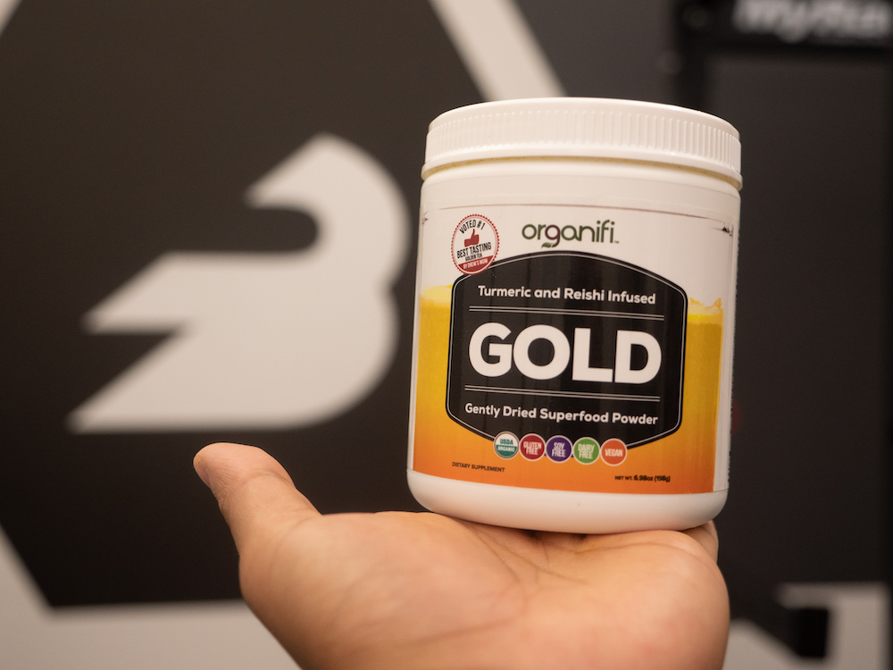 Organifi Gold Container
