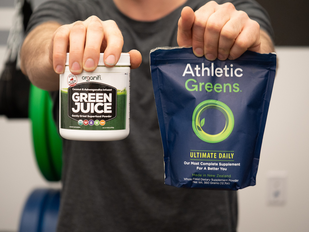 Organifi vs Athletic Greens Supplements