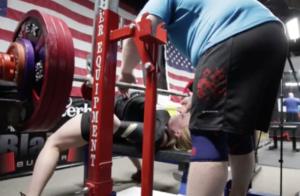 Rhaea Stinn 190kg bench